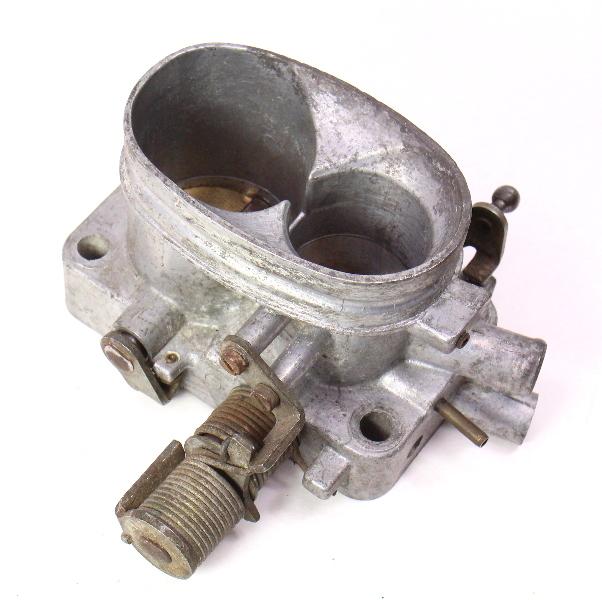 throttle body 76 77 vw rabbit scirocco mk1 1 6   genuine