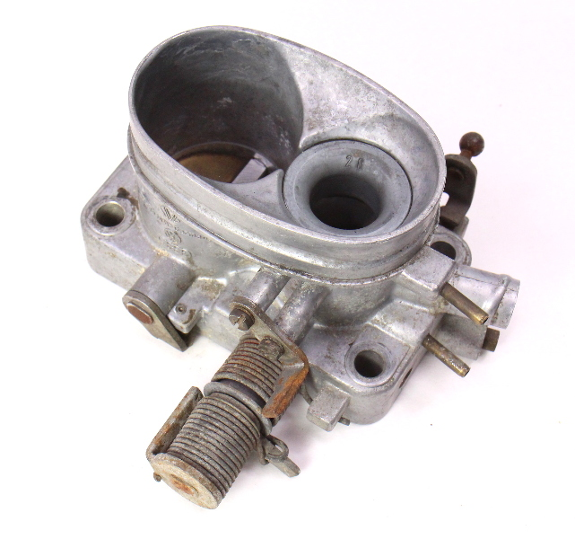 Throttle Body 76 77 Vw Rabbit Scirocco Mk1 1 6 Genuine