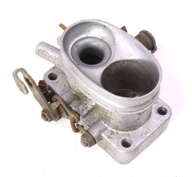 Throttle Body 73 79 Audi Fox Vw Mk1 1 6 Gas Fi Genuine