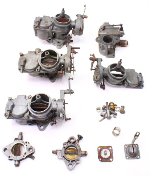 Solex Dual Carb Parts Lot 32 Pdsit 2 3 Carburetor Vw Bus