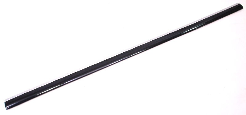 rh front door molding chrome trim rub strip 01
