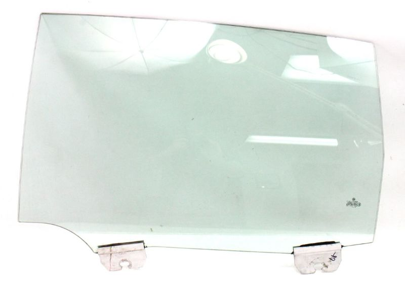 LH Rear Door Side Window Glass 04-06 VW Phaeton - Genuine