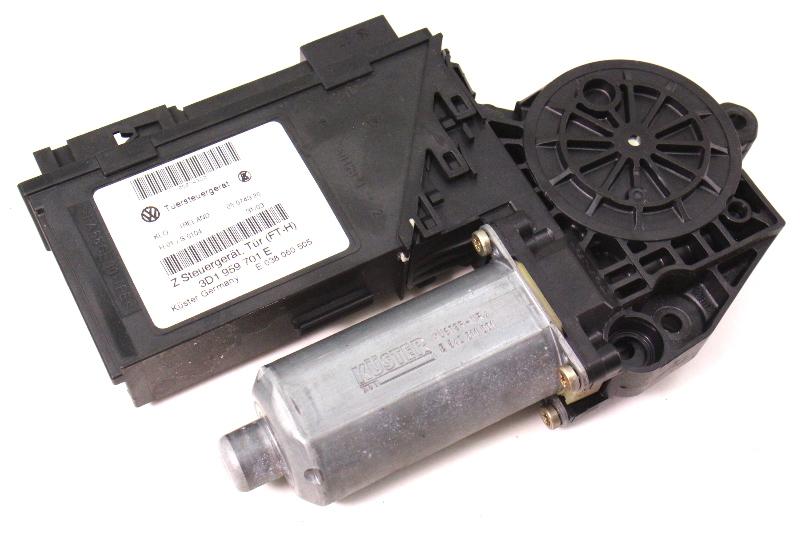 Driver Front Power Window Motor & Module 04-06 VW Phaeton - 3D1 959 701 E