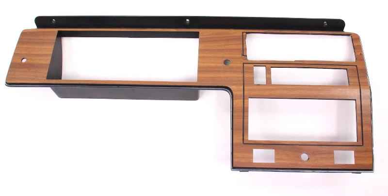 Wood Dash Radio Surround Trim Panel 81-84 VW Rabbit Pickup MK1 ~ 175 857 061 ~