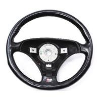3 Spoke Sport Steering Wheel 00-02 Audi TT MK1 - Black Leather - 8N0 419 091 A