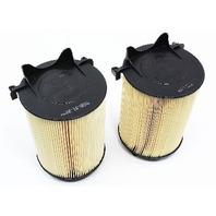 2x Air Filters 2011-2014 VW Jetta S 2.0 8v - Genuine New - 2 Pack - 1F0 129 620