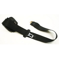 Rear Seat Belt 93-98 Audi 90 Cabriolet - Black - Genuine - 8G0 857 709 C