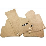 Complete Floor Mat Set 06-12 VW Passat B6 B7 CC - Beige - Genuine OE - New