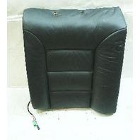 LH Black Leather Rear Back Rest Driver side 00-03 Audi A8 S8 - Genuine