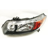 LH Driver Headlight Head Light Lamp 06-11 Honda Civic Sedan Hybrid - Genuine