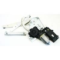 LH Rear Power Window Regulator Track & Motor 95-02 VW Cabrio - 1E0 959 811 B