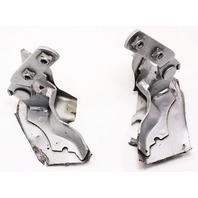 Hood Hinges Pair 97-03 VW EuroVan - LA7W Reflex Silver - Genuine