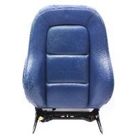 RH Front Seat Backrest 00-06 Audi TT MK1 - Denim Blue Leather - Genuine