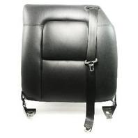 LH Rear Seat Back Rest 00-06 Audi TT MK1 - Black Leather - Genuine