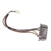 LH Taillight Tail Light Pigtail Wiring Plug 92-03 VW Eurovan T4 - 191 972 707