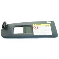 LH Dark Gray Sunvisor Sun Visor 00-06 Audi TT - Genuine