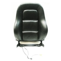 RH Front Seat Backrest & Airbag 00-02 Audi TT MK1 - Black Leather - Genuine