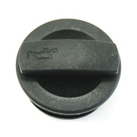 Oil Filler Cap Lid V6 AVK 3.0 02-04 Audi A4 A6 B6 C5 - Genuine - 06C 103 485 K