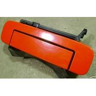 LH Rear Door Handle 96-99 Audi A4 Avant Left Side Laser Red - Genuine