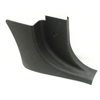 RH Kick Panel Cover Trim 00-06 Audi TT MK1 - Black - Genuine - 8N0 867 272 B