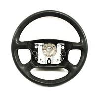 Black Rubber Steering Wheel VW Passat B5 Jetta Golf Mk4 - 3B0 419 091 AA