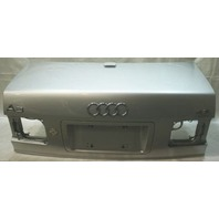 Trunk Deck Lid 00-03 Audi A8 S8 D2 - LY7W Light Silver Metallic - Genuine