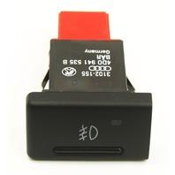 Front Foglight Switch Button 00-03 Audi A8 S8 D2 - Genuine - 4D0 941 535 B