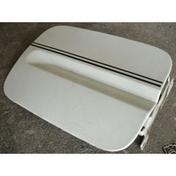 Gas Fuel Door Lid White 90-94 VW Passat B3 - Genuine