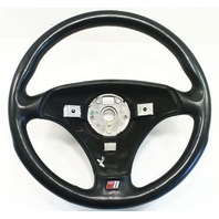 Steering Wheel 00-06 Audi TT MK1 3 Spoke Black Leather - Genuine