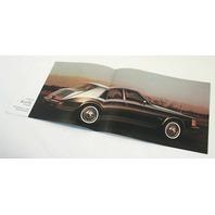 Original Dealer Showroom Brochure - 1980 Cadillac - Fleetwood Eldorado Se Ville
