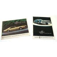 Original Dealer Showroom Brochure - 1966 Oldsmobile