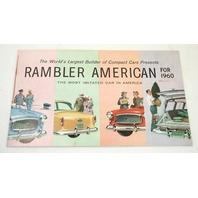 1960 Rambler American Original Dealer Brochure Poster