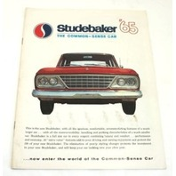 Original Dealer Showroom Brochure - 1965 Studebaker