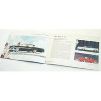 1958 Mercury Original Dealer Showroom Brochure