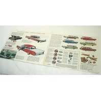Original Dealer Showroom Brochure - 1959 Ford