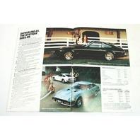 Original Dealer Showroom Brochure - 1980 Datsun