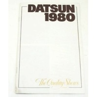 Original Dealer Showroom Brochure - 1980 Datsun
