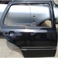 RH Rear Door Shell 93-99 VW Jetta Golf 4 Door Mk3 Black - Genuine