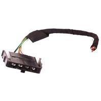 RH Taillight Plug Pigtail 88-92 Audi 80 90 - Tail Light Lamp Wiring - Genuine OE
