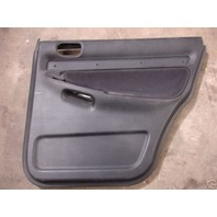 RH Rear Door Panel 96-01 Audi A4 Black Cloth No Trim Right Side - Genuine -