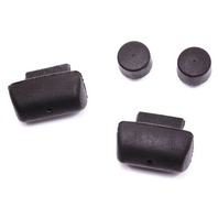Hatch Lid Bumpstops VW Beetle - Trunk Bump Stops - Mounted on Trim - Genuine