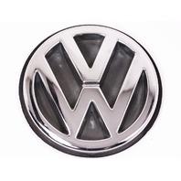 Trunk Emblem Badge Sign 93-99 VW Jetta MK3 - Chrome - Genuine - 1H5 853 630 D