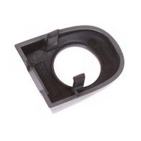 Door Handle Key Hole Trim Cap 00-06 Audi TT LZ7X Nimbus Gray - 3B0 837 879