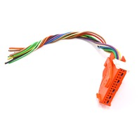 Airbag Module Computer Wiring Harness Plug Pigtail 96-98 Audi A4 B5 - Genuine