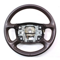 Steering Wheel 98-04 Audi A6 C5 - Brown Leather - Genuine