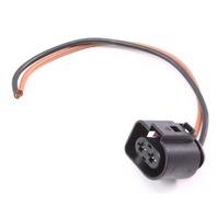 Air Smog Pump Pigtail Plug VW Jetta Golf Beetle Audi A4 A6 Passat - 1J0 973 752