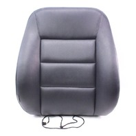 RH Front Seat Back Rest 98-01 Audi A6 C5 - Black Vinyl Leatherette - Genuine