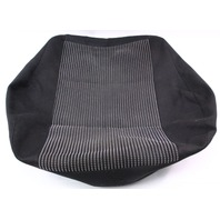 LH RH Black Front Seat Cushion Cover 99-02 VW Cabrio MK3.5