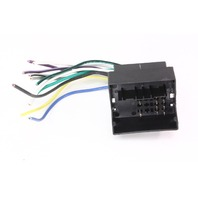 aftermarket radio stereo install wiring harness 01-05 vw ... mk4 jetta radio wiring 2010 jetta radio wiring diagram