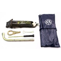 Genuine Spare Tire Tool Kit Jack Lug Wrench Bag 93-99 Jetta Golf GTI Cabrio Mk3